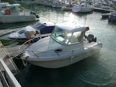 Le bateau...