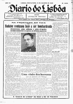 RESEÑAS PRENSA LISBOA MATANZA DE BADAJOZ