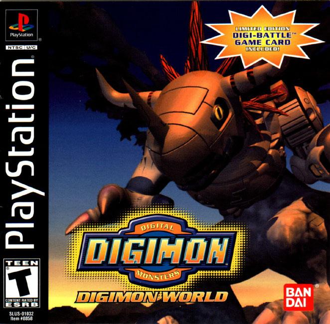 [MEGAPOST] Guia para Digimon World 1