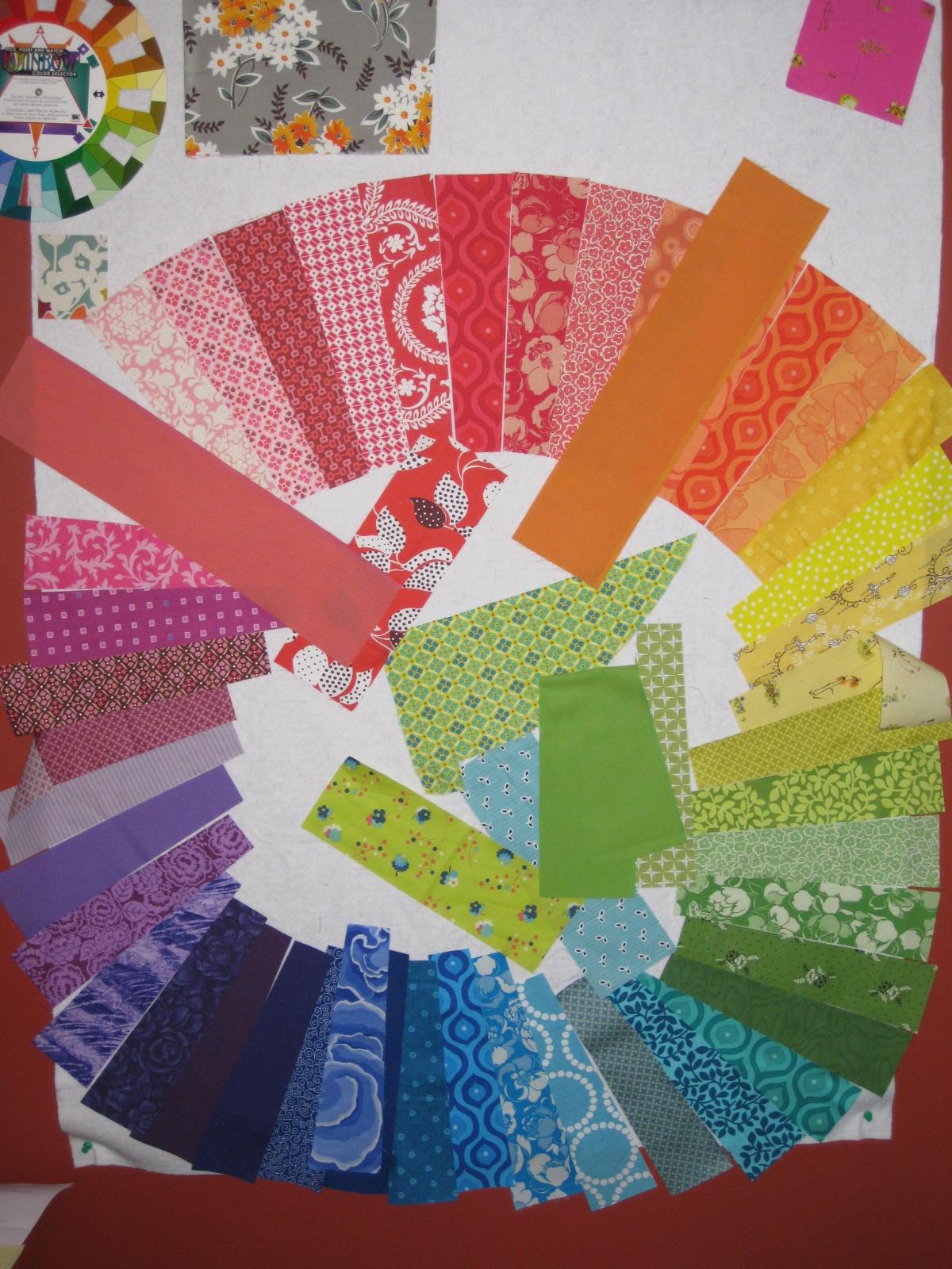 Cut Sew Iron Repeat Hugo S Color Wheel Quilt