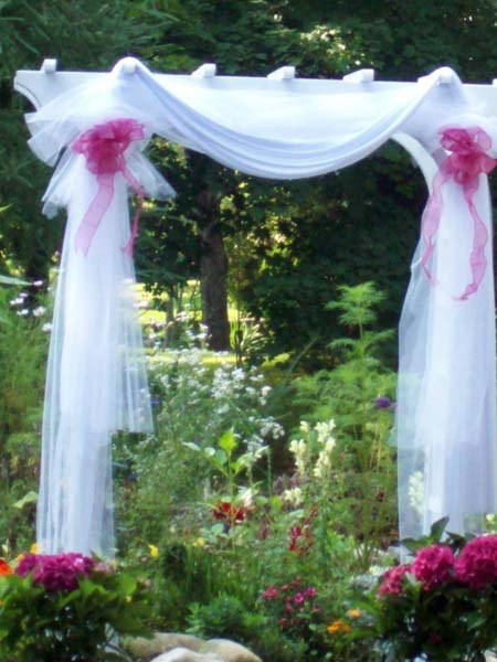 Le fabuleux events presents one fab event let 39 s talk for Arch wedding decoration ideas