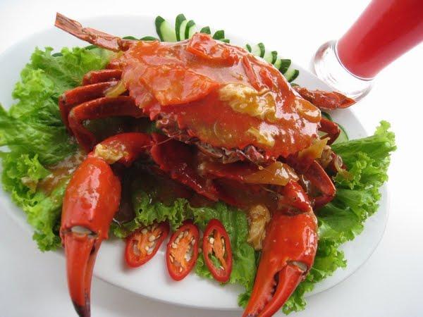 resep cara membuat kepiting goreng saus padang mantap