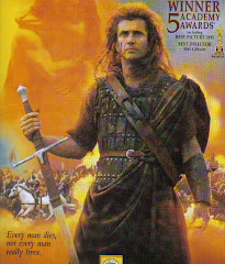 Braveheart is one of our favorite movies!