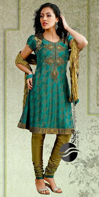 Anarkali umbrella frock dress kurti styles salwar kameez she9