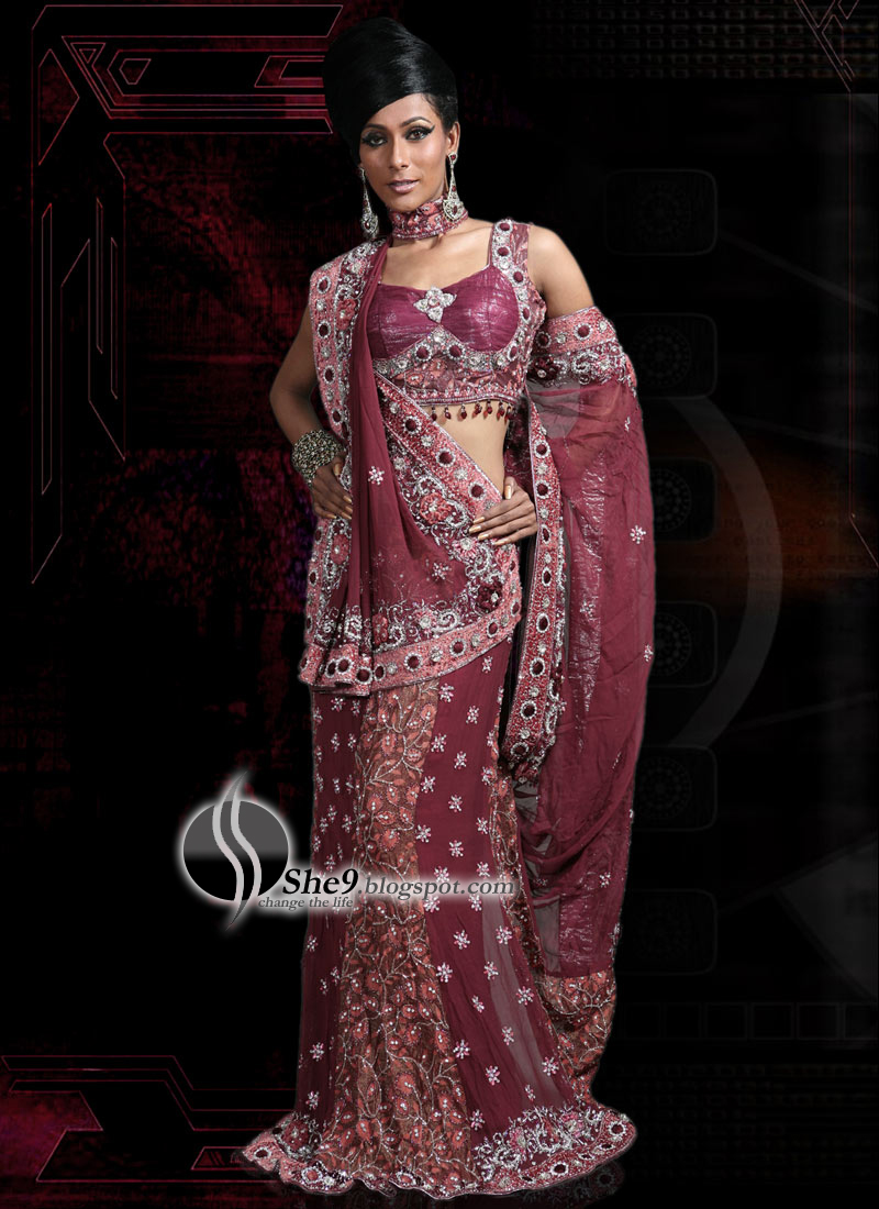 Saree Designs Latest Indian Saree Fashion 2010 She9 Change The Life Style