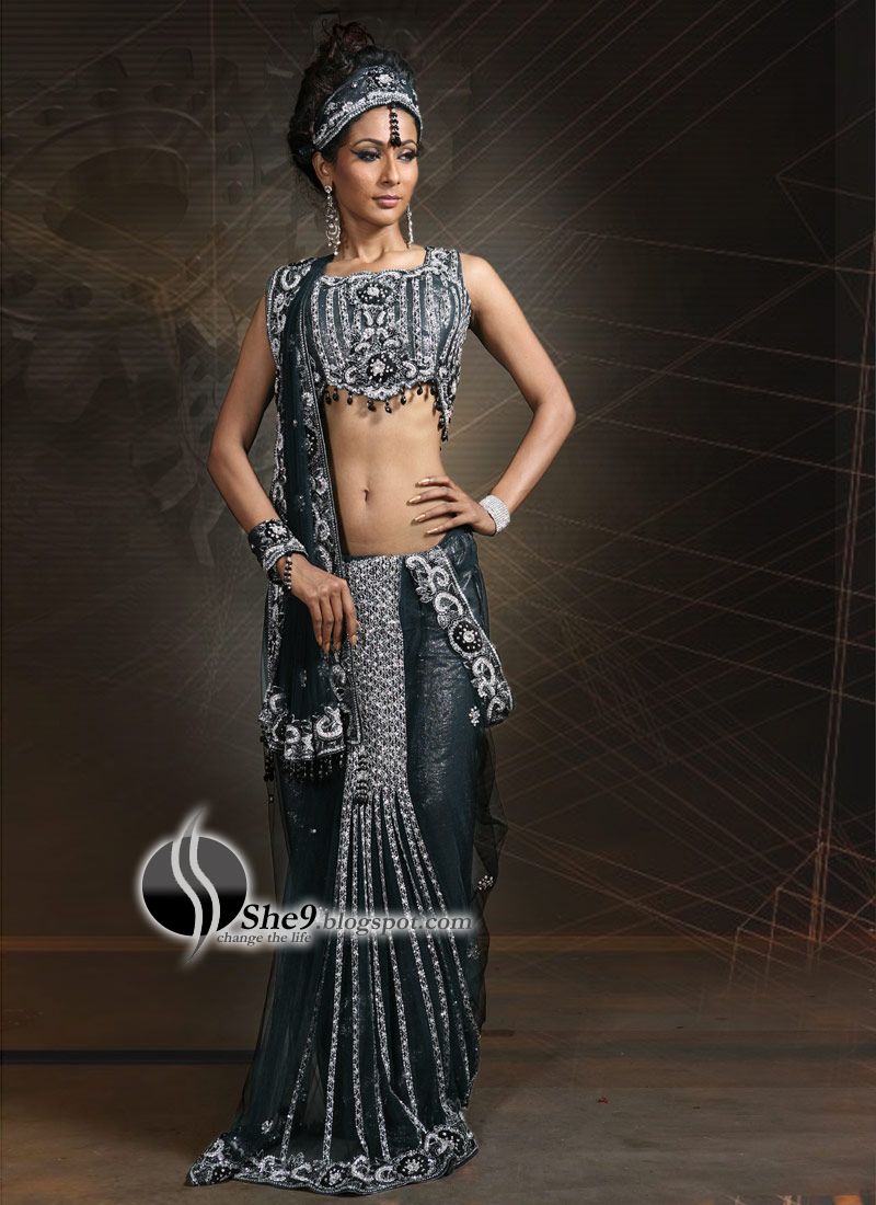 Saree designs latest indian saree fashion 2010 she9 change the