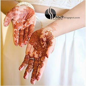 Beautiful Pakistani Mehndi design