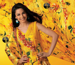 Gul+Ahmed+Stylish+Design+www.She9.blogspot.com+%2811%29 More v neck and round neck shalwar kameez styles from Gul Ahmad