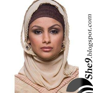 beautiful arabic hijab style with beautiful under hijab style