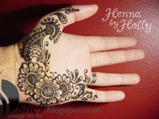Flower Mehndi Designs On Back : New bridal mehndi designs mahendi henna