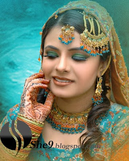 NewPakistaniBridalMakeupwwwShe9blogspotcom 8  - Make up of the day 24 Feb 10