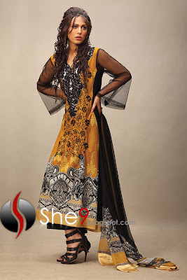 Modern Long Kurti | Gown Style | Latest Lakhani Dresses - She9 ...