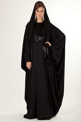 La Reine and Le Reine Arabian UAE Styles Abaya Collection for 2012 March