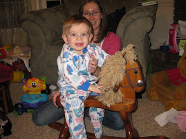 Taylor on the rocking horse