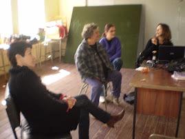Coordenadoras Pedagógicas visitam a E. M. de E. F. Acelino Morales com objetivo de ministrar curso.