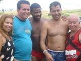 Recepção no Balneário de Mucurici pelo prefeito municipal  Atanael