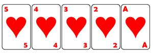 Jogadas de Poker, Sequencia de Cor ou Straight Flush