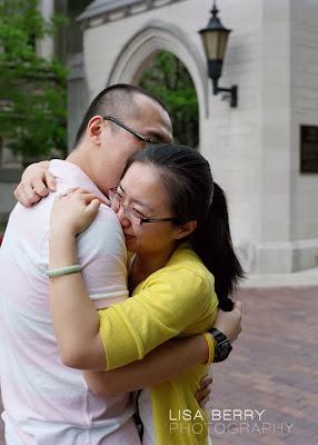 Indiana University marriage proposal