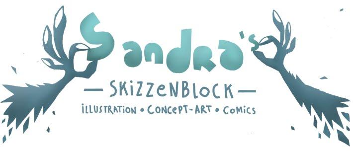 Sandras Skizzenblock