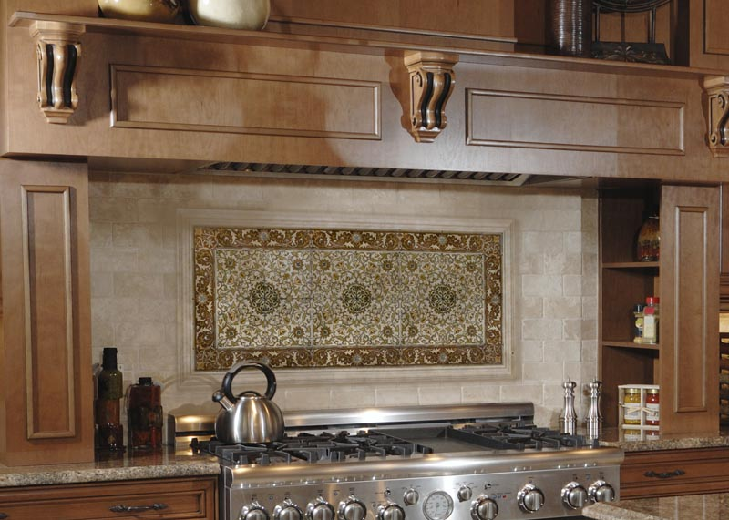Stoneimpressions blog deep rich colors a makeover for for Kitchen backsplash tile patterns