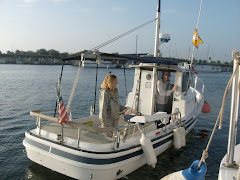 Julie and Maurice aboard QUOTIDIAN, St. Pete
