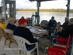Fern teaching Charts 101B at Hoppie's Marina, Kimmswick, MO