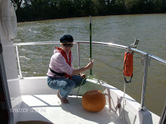 Once a salvage guy, always....we found the pumpkin afloat in the Cumberland!