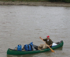 Neal, the CNN canoe guy, paddling to New Orleans! And we thought we were moving slowly...