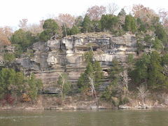 Scenery along the Tennessee River can be breathtaking.