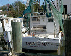 Miss 'Bama--a recreational shrimper.  Very neat baot!