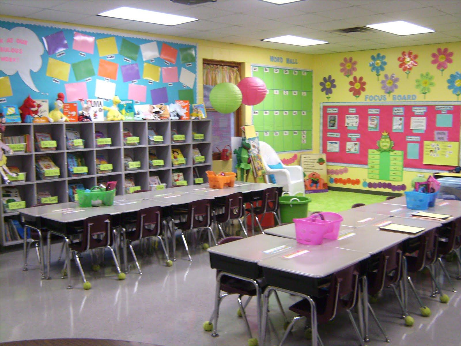 Classroom Wall Design Ideas : Life in first grade my classroom