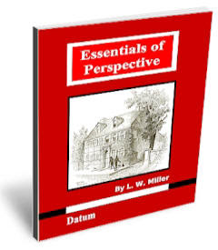 Cover page of the free EBook: Essentials of Perspective.