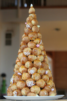 Croquembouche, though not our croquembouche