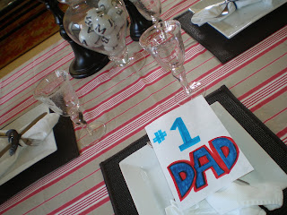 Father S Day Dinner And Tablescape The Style Sisters