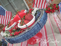Denim Waistband for Cake Plates $5.00