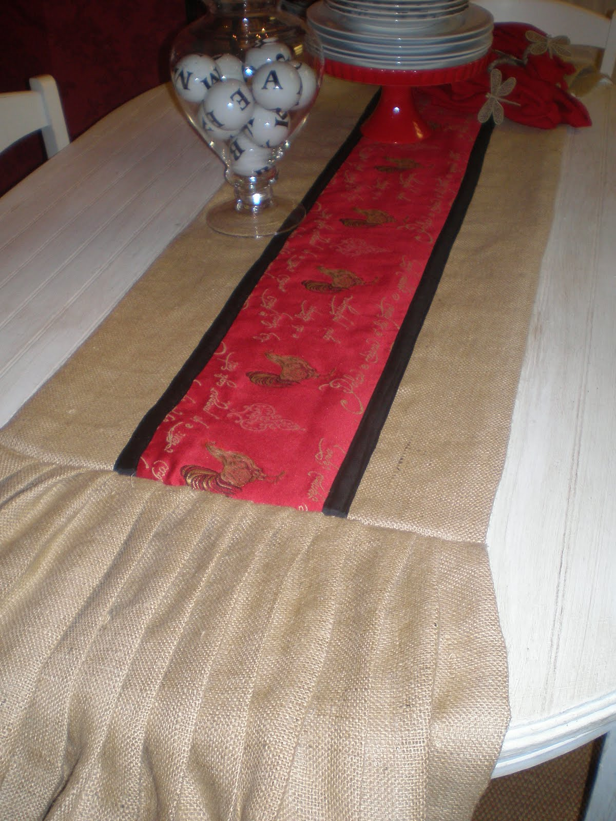 Genial Tuscan Or French Country Table Runner