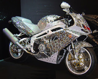 $4.8M Diamond Motorcycle