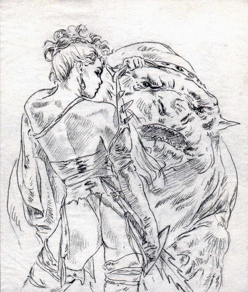 Рисунки луиса ройо на тему секса в больших форматах рисунки