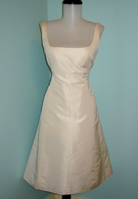 Silk Faille Whitney In Ivory Purchased On Maybe 60ish Not Really Sure As My Rehearsal Dinner Dress 2007 I Love This