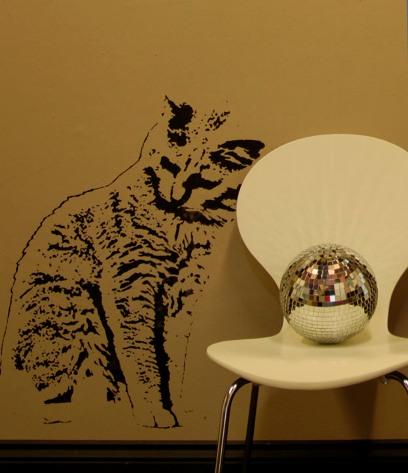 Plantillas de gatitos para decorar la pared de casa - Plantillas para decorar paredes ...
