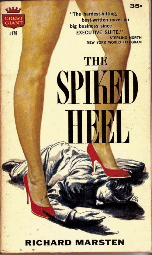 The Spiked Heel Richard Marsten 1957 PB 500x841 Lancer also published some great vintage erotica, such as Terry Southern's ...