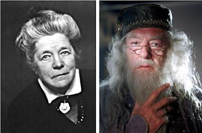 Selma Lagerlöf är ganska lik Dumbledore.