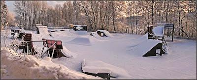 Skateboardrampen vid Beateberg.