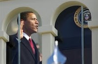 Text of President Barack Obama's inaugural address 1/20/09