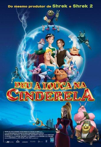 Filme Poster  Deu a Louca Na Cinderela DVDRip RMVB Dublado