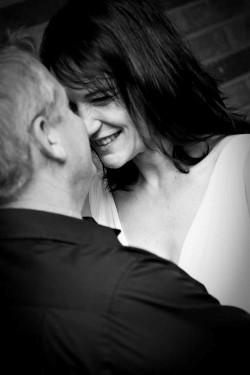 Rick & Vanessa on their Wedding Day