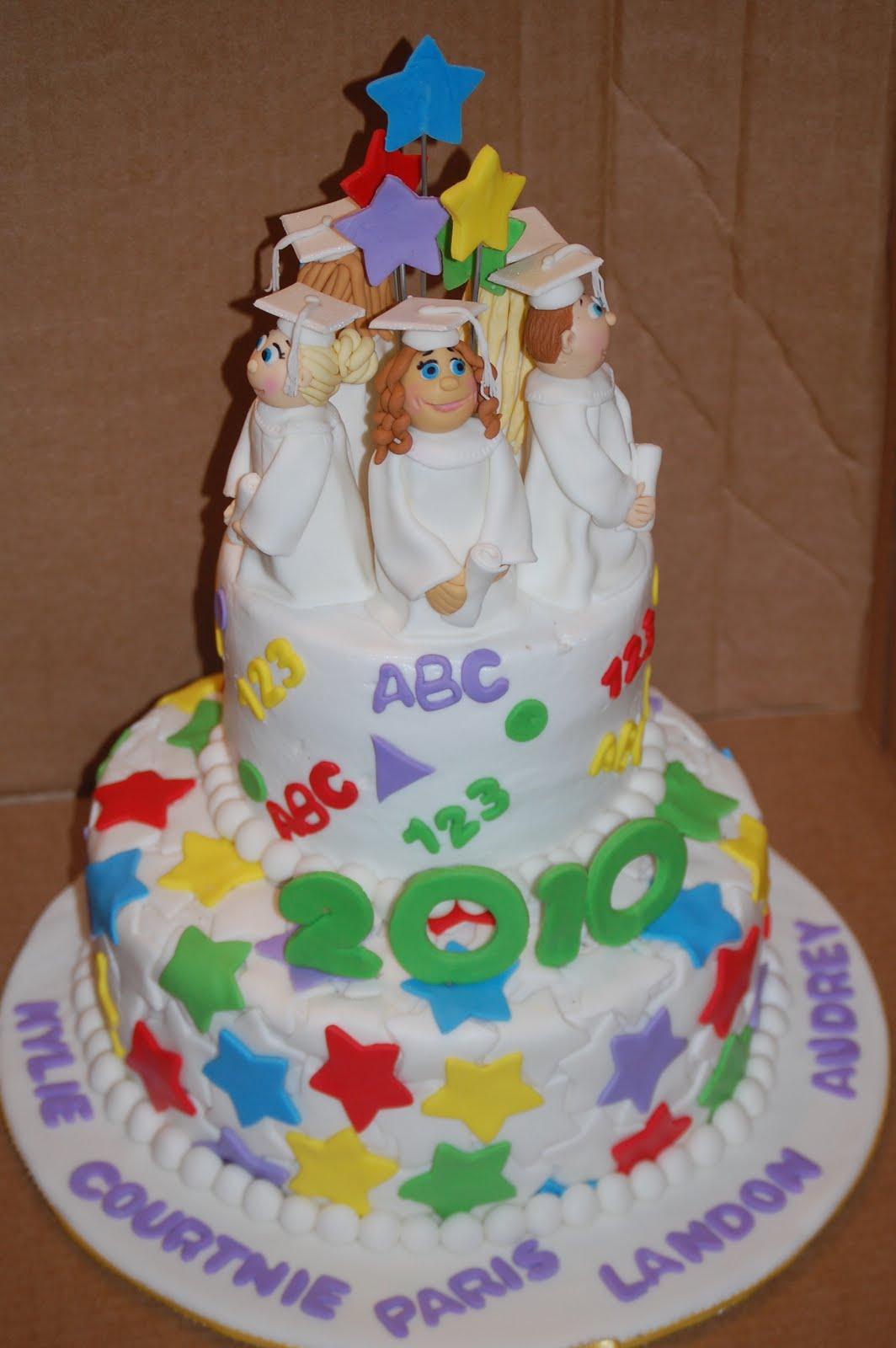 A Piece of Cake!: Kindergarten Graduation Cake