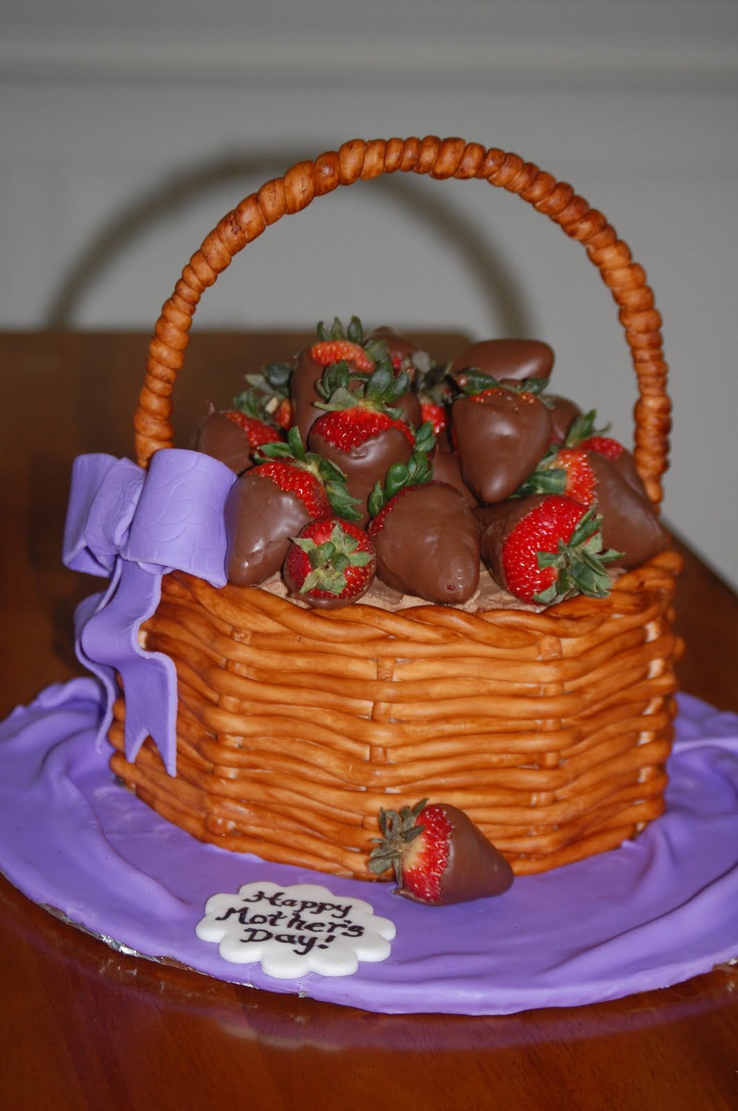 Piece of Cake!: Mother's Day Strawberry Basket