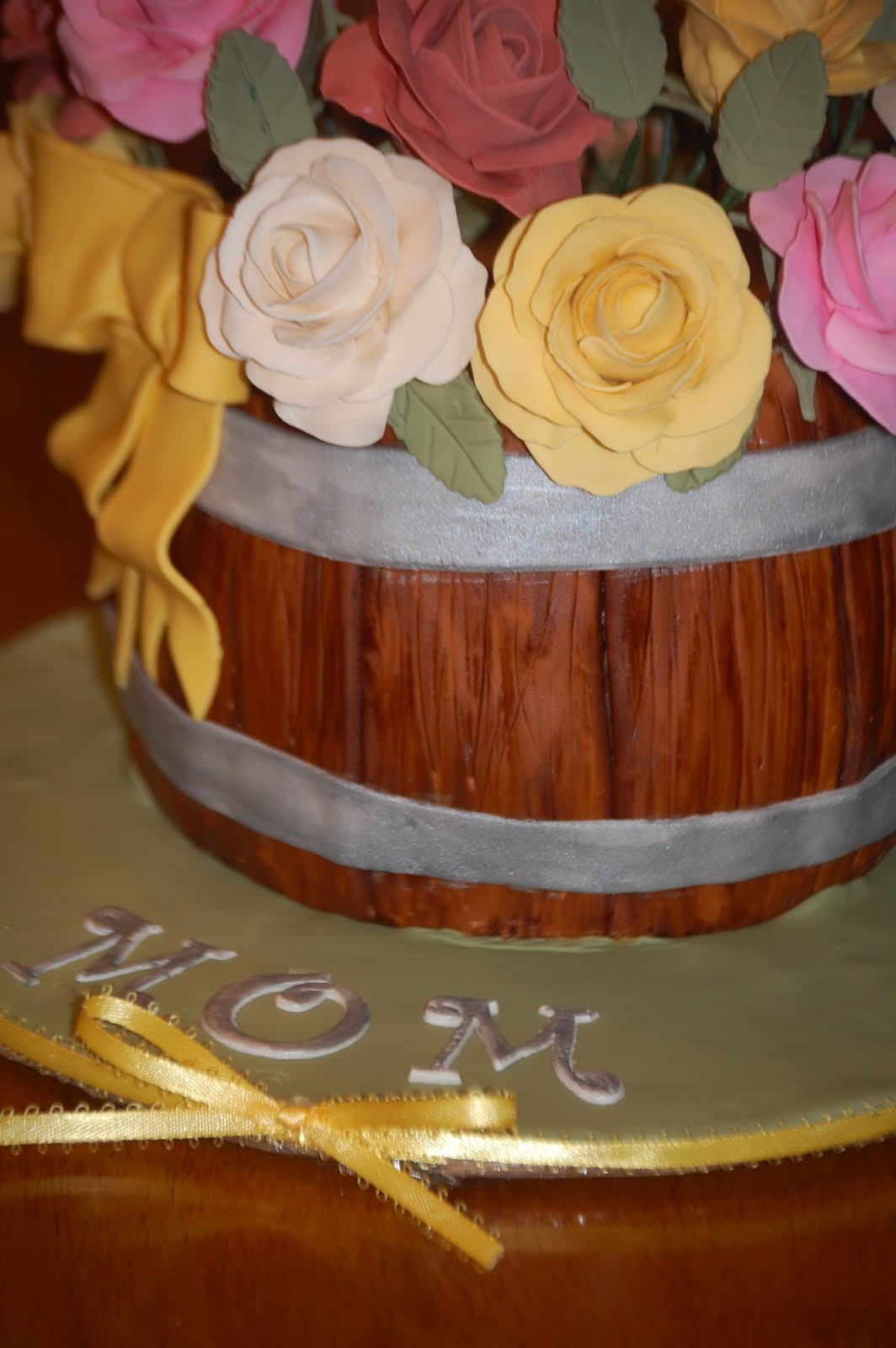 Cake Design For Mother In Law : A Piece of Cake!: My Mother-In-Law s 60th Birthday Cake