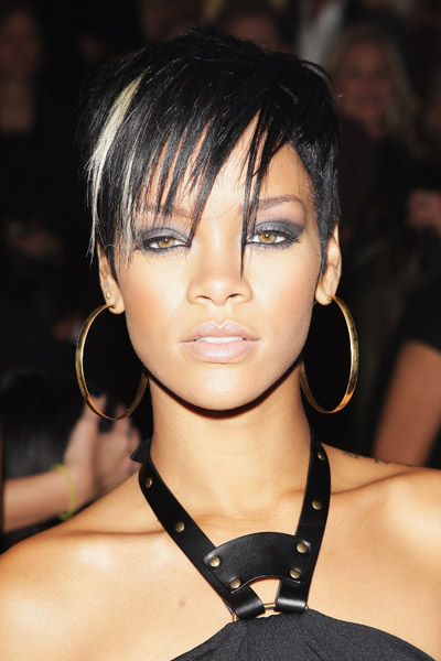 rihanna hairstyle in take a bow. rihanna haircuts. hair